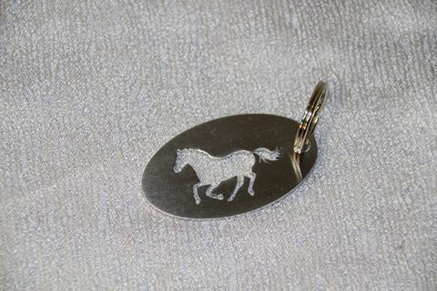 Avaimenperä Hevonen Laukkaava
