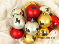 Christmas tree ball Breed I-K