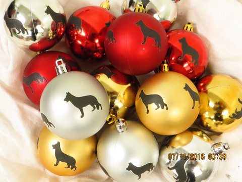 Christmas tree ball Breed L-R