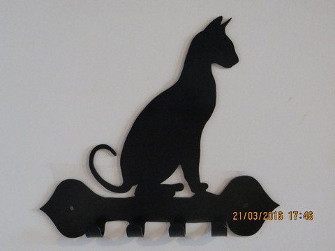 Naulakko kissa istuu LK