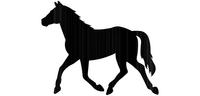 Flower/lantern rack Horse
