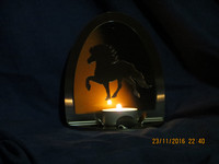 Candle holder Icelandic Horse