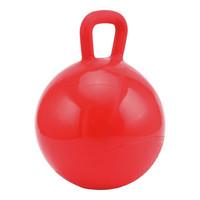 Leikkipallo hevoselle, punainen