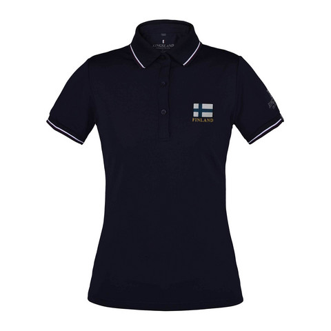 KL Cursa Ladies flag pique polo shirt