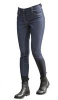 Ratsastushousut gripeilllä, blue jeans