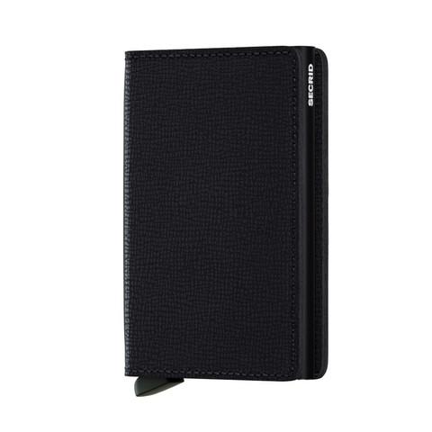 Secrid Slimwallet Crisple Black lompakko