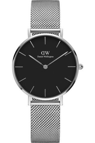Daniel Wellington Classic Petite Sterling Black DW00100162 rannekello