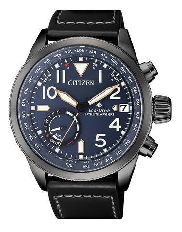 CITIZEN ECO-DRIVE CC3067-11L SATELLITEWAVE GPS rannekello | toimituskulut 0€
