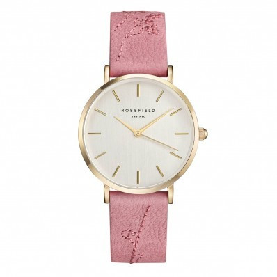 Rosefield The City Bloom Rose Pink - Gold CIRBG-E92 rannekello | toimituskulut 0€