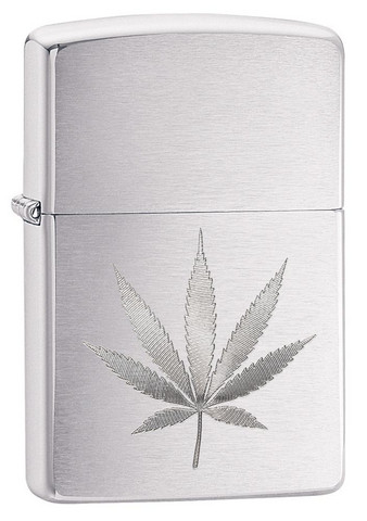 Zippo 29587 leaf design engrave