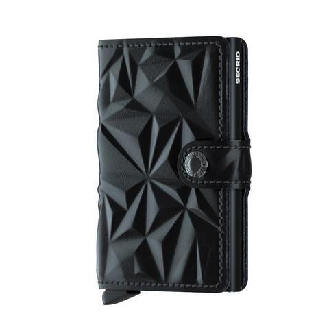 Secrid Miniwallet Prism Black lompakko