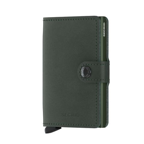 Secrid Miniwallet Original Green lompakko