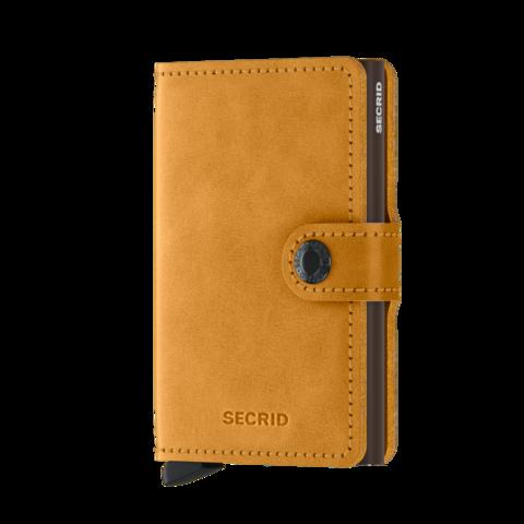 Secrid Miniwallet Vintage Ochre lompakko