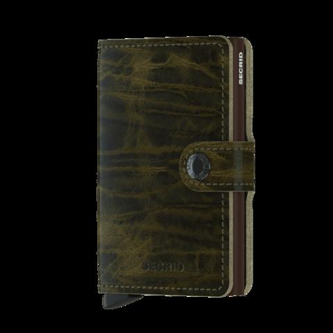 Secrid Miniwallet Dutch Martin Olive lompakko