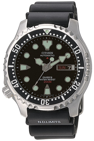Citizen NY0040-09EE Automatic rannekello