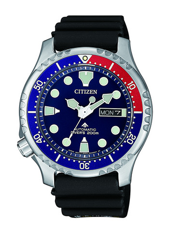 Citizen NY0086-16L Automatic rannekello