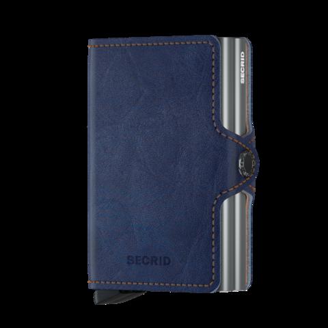 Secrid Twinwallet Indigo 5-Titanium lompakko