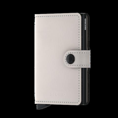 Secrid Miniwallet Matte Chalk lompakko