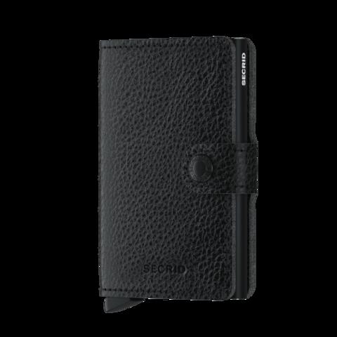 Secrid Miniwallet Veg Black-Black lompakko