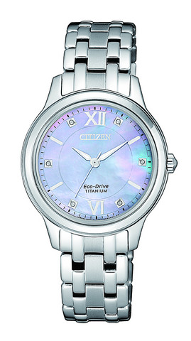 Citizen Eco-Drive 6 timantilla EM0720-85Y rannekello