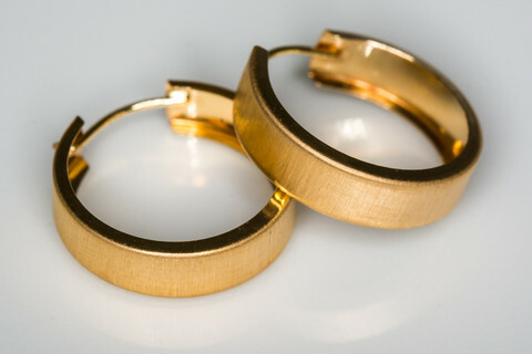 Kulta korvarenkaat 30089