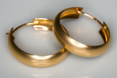 Kulta korvarenkaat 30084