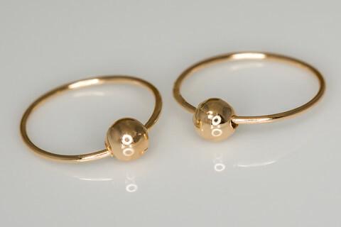 Kulta korvarenkaat 30035