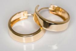Kulta korvarenkaat 30022