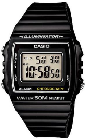 Casio W-215H-1AVDF rannekello