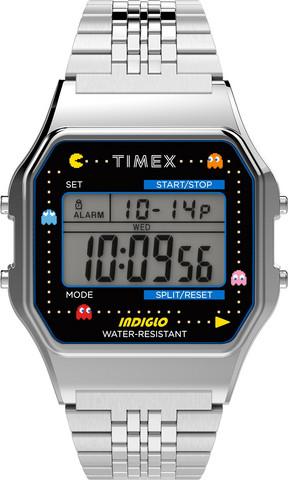 Timex T80 PAC-MAN TW2U31900 rannekello