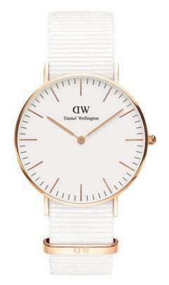 Daniel Wellington Classic White Rose Dover DW00100309 rannekello