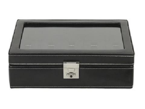 Kellolaatikko London Black 26105-2 | 10 kellolle