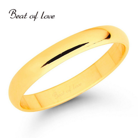 Beat of Love KKP-3 3mm keltakulta sormus