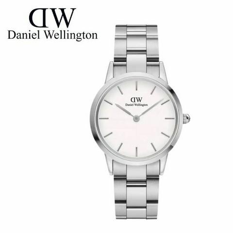 Daniel Wellington Iconic Link Silver DW00100205 rannekello
