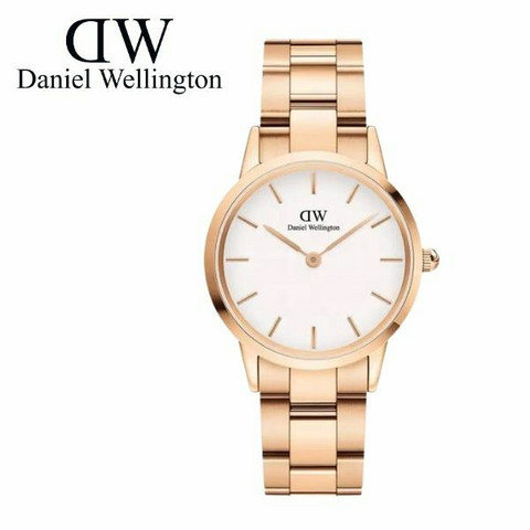 Daniel Wellington Iconic Link Rose White DW00100211 rannekello