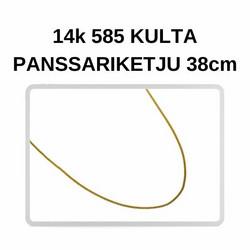 Kulta Panssari riipusketju 38cm
