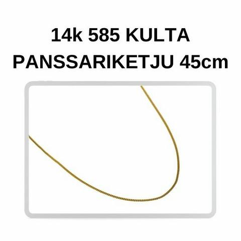 Kulta Panssari riipusketju 45cm