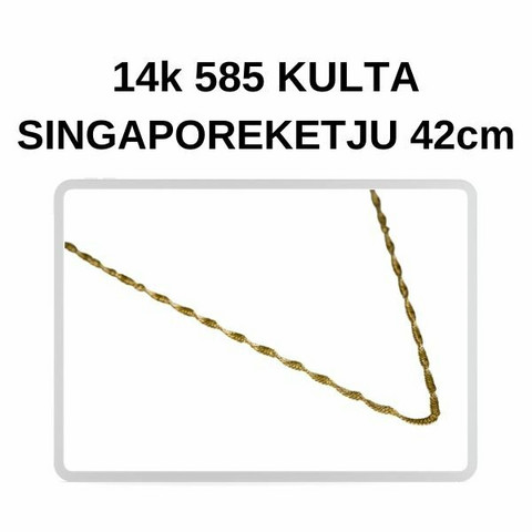 Kulta Singapore riipusketju 42cm