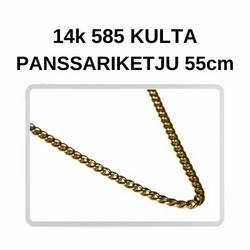 Kulta Panssari kaulaketju 55cm