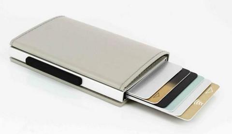 Ögon Cascade Slim Magnets Grey lompakko