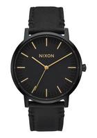Nixon A1058 1031 Porter Leather rannekello