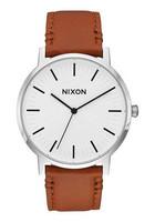 Nixon A1058 2442 Porter Leather rannekello