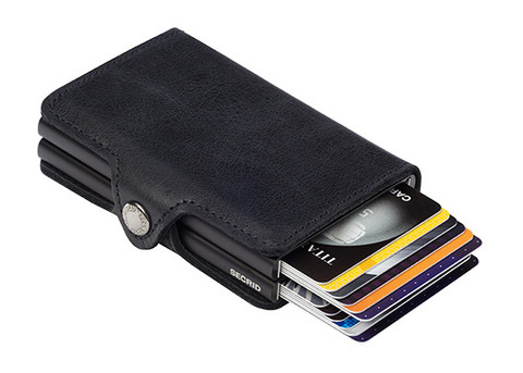 Secrid Twinwallet Black Vintage lompakko