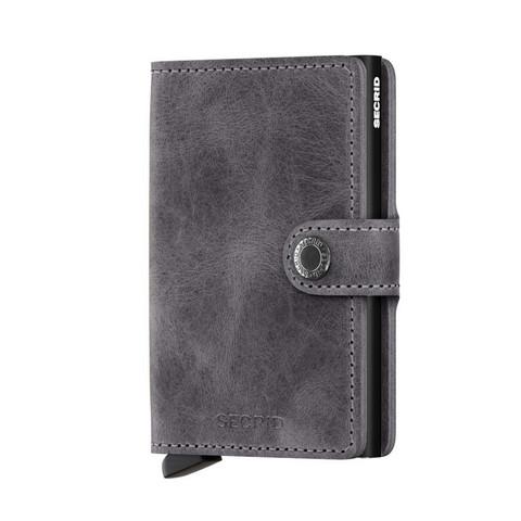 Secrid Miniwallet Vintage Grey-Black lompakko