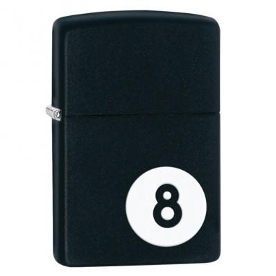 Zippo Z28432 black matte 8-ball