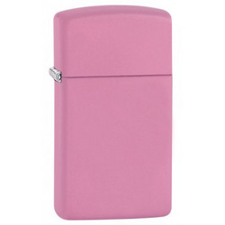 Zippo 1638 - slim pink matte