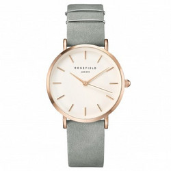 Rosefield WMGR-W74 West Village Mint Grey-Rose Gold rannekello