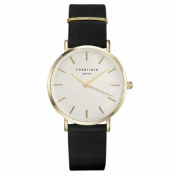 ROSEFIELD WBLG-W71 WEST VILLAGE BLACK-GOLD rannekello | toimituskulut 0€