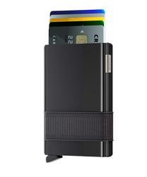Secrid Cardslide Black-Black lompakko