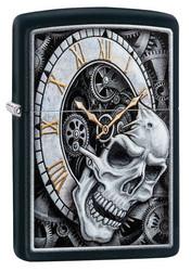 Zippo Z29854 Skull Clock Design